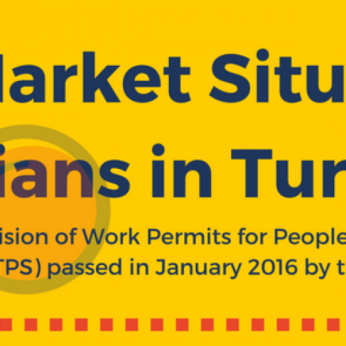 Labor Market Situation of Syrians in Turkey